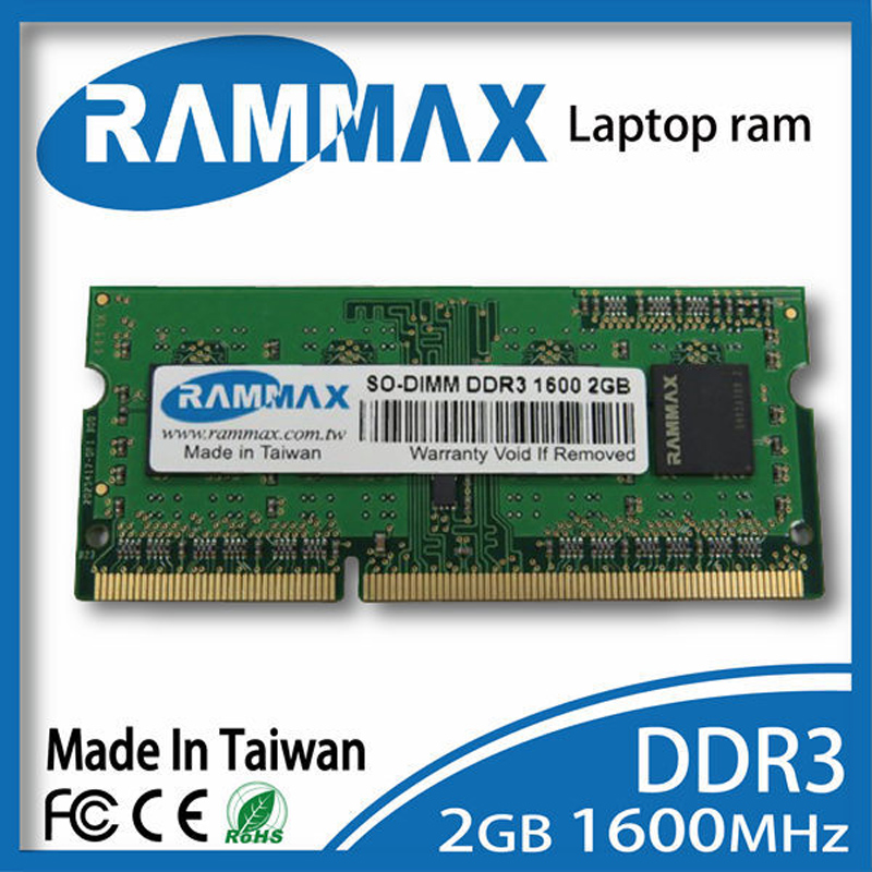 Laptop DDR3 Ram 2GB 4GB 8GB Memory PC3 12800 SO DIMM1600Mhz Non ECC 204pin/CL11 high compatible with all motherboard of Laptop