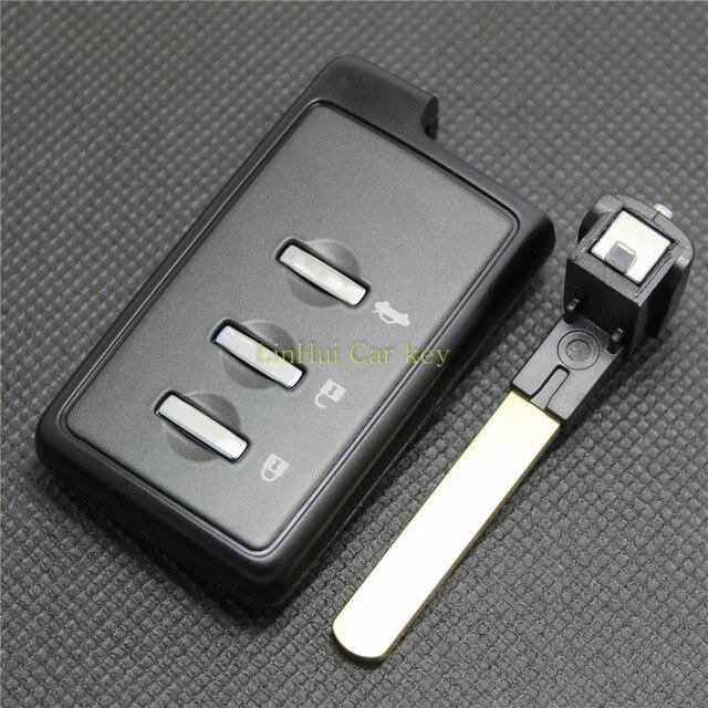 אצטרובל עבור סובארו פורסטר LEGACY אאוטבק מרחוק מפתח 3 לחצנים מרחוק מפתח מעטפת עם ריק מפתח להב 1 PC
