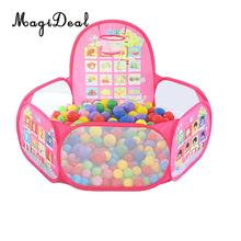 120 cm 47   emergente bolas niño pelota mar piscina Play Tent Playhouse  corralito w aro de baloncesto fruta educativo juguete co. e0caa6e5819b3