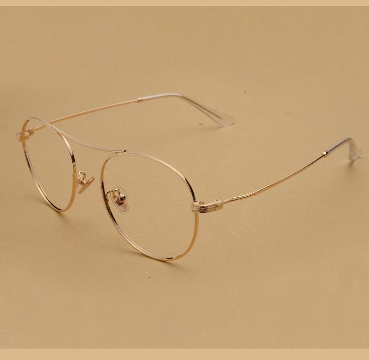 Donna miopia occhiali donne uomini occhiali da vista in metallo ...