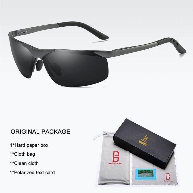 Bruno dunn 2020 Men Sunglasses Polarized uv400 high quality oculos de sol masculino oversized sunglases lunette soleil homme 9