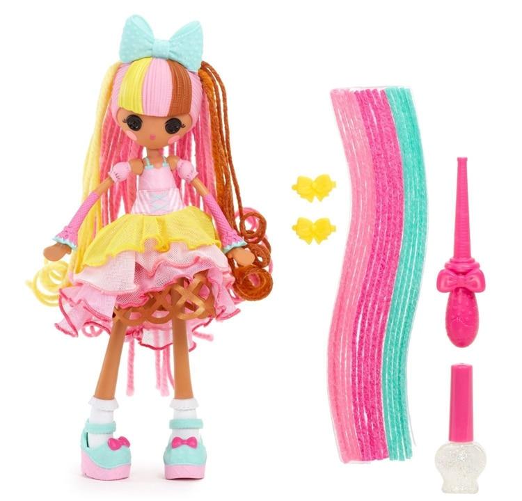 Lalaloopsy Ragazze Crazy HAIR Scoop Waffle Cono doll