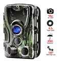 Goujxcy HC801A охотничья камера 36 шт. Инфракрасные светодиоды ночное видение Trail cmaera Водонепроницаемая 16 МП Скаут лес Дикая камера фото ловушки