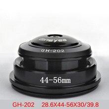 купить Headset Gineyea GH202 Bearing Headset / External Wrist Group / Road Bike Headset Group / Mountain Bicycle Washer 165g 44MM-56MM дешево