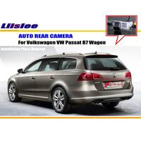 Car Rear View Camera Back Up Reverse Parking Camera For VW PASSAT B7 2011 2015 License