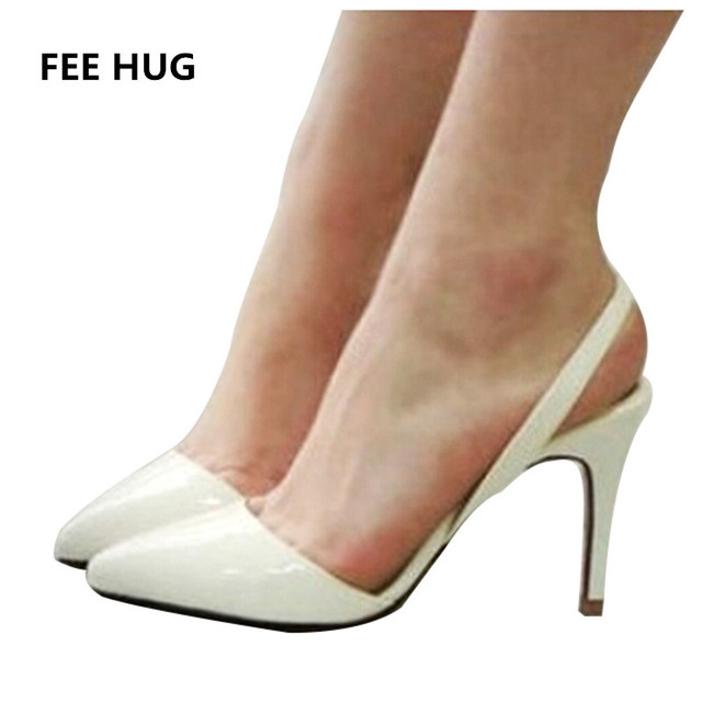 Aliexpress.com : Buy Sexy Point Toe Patent Leahter High Heels ...