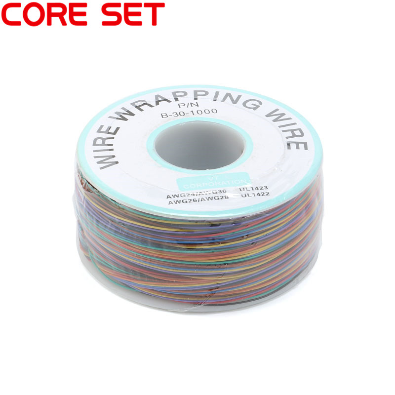 8colors PCB P/N 30AWG Wrapping Wire 250meter Flying Jumper 820FT Multicolor Cable Ok Wire B-30-1000 n flying fan meeting bangkok