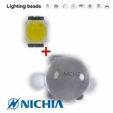 40pcs a Lot 3W Full Power CREE T6 5050 LED Lamp Bead 20X40milX6PS Flashlight light diode Chip Cold White 280lm 4500K