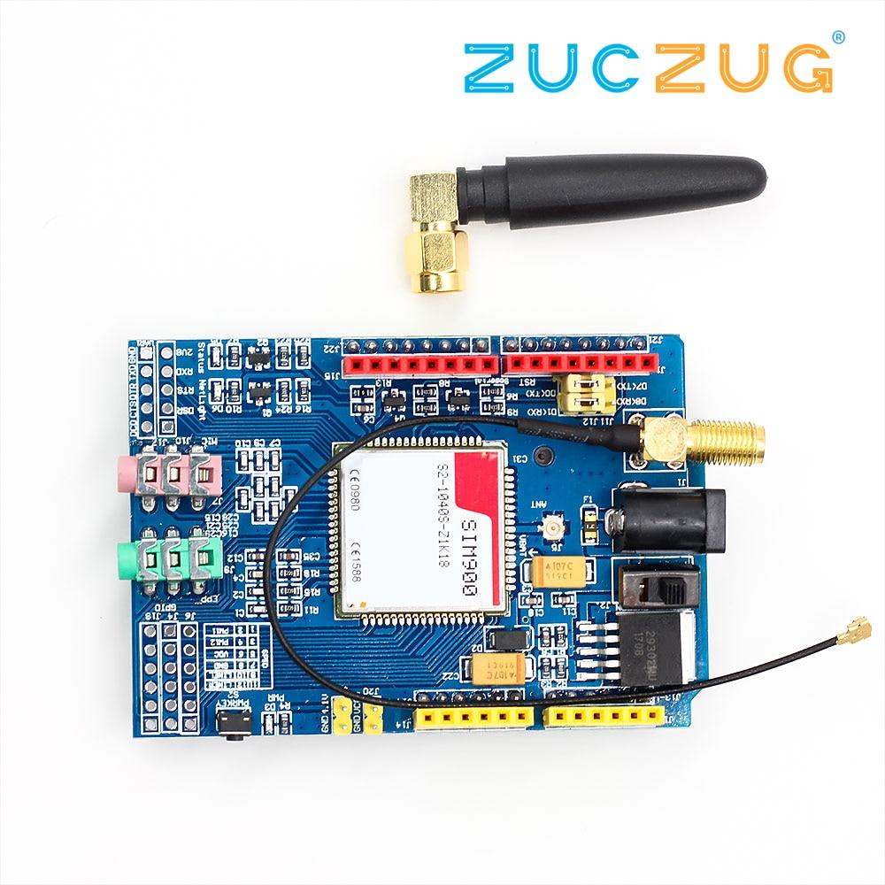 Kit de Module de carte de développement SIM900 850/900/1800/1900 MHz GPRS/GSM pour Arduino