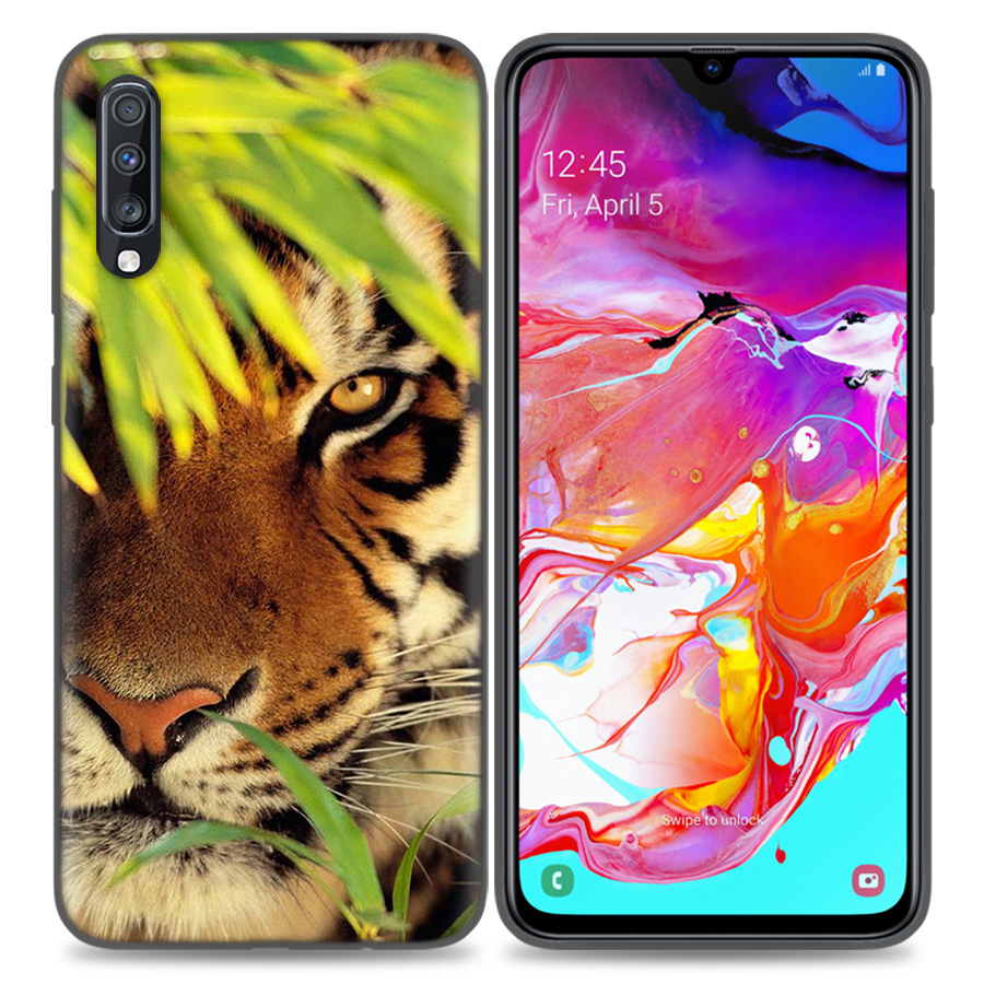 Image 5 - Silicone Case Cover For Samsung Galaxy A50 A80 A70 A40 A30 A20 A20e A10 A9 A8 A7 A6 Plus 2018 Note 10 9 8 tiger Fashion Lovely A-in Fitted Cases from Cellphones & Telecommunications