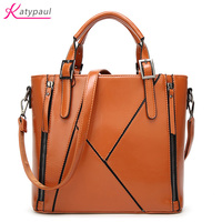 Brown Hot Women Leather Handbags Medium Shoulder Bags Luxury Women Messenger Bag Famous Brands Female Tote Women Handbag Bolsa