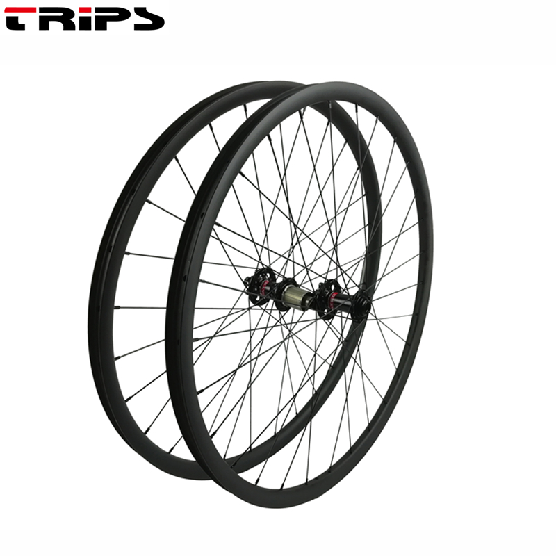 29er carbon boost mtb wheels 15x110mm 12x148mm 27 5er Novatec boost Mountain bike carbon wheel Tubeless