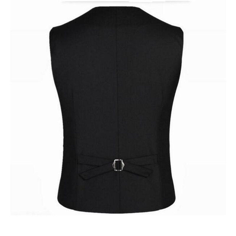New Arrival Men Vest Mens Fitted Leisure Waistcoat Casual Business Jacket Tops suit vest custom single-breasted