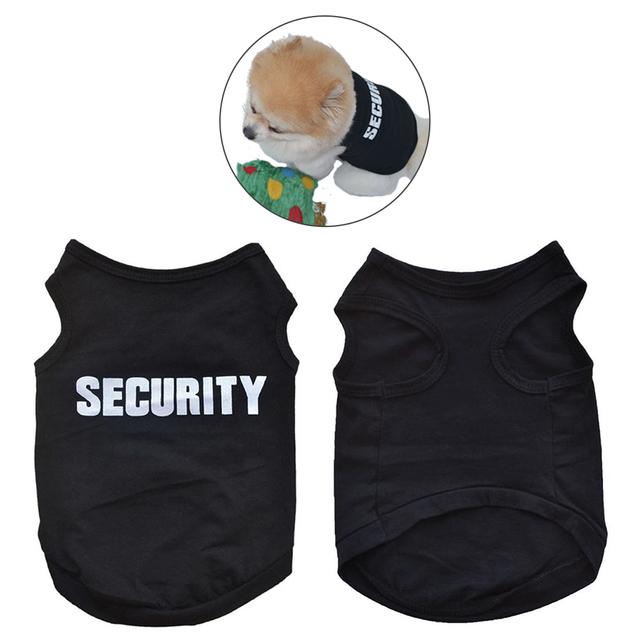 Super Deal 2017 pet dog clothes cheap Summer Cute small dog clothes Cute Summer Pet Vest