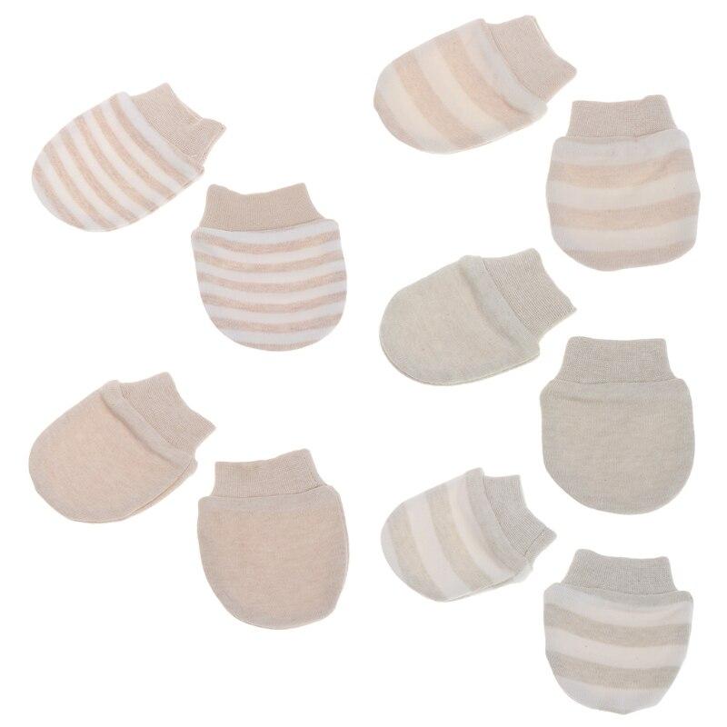 1 Para Baby Anti Scratching Handschuhe Neugeborenen Schutz Gesicht Baumwolle Scratch Mittens Baby Handschuhe