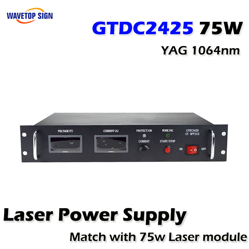 75W  laser power supply GTDC2425 JITAI  Laser Power supply  GTDC2425 75W discount good quality high power gtpc 75s 75w diode pumped laser module power supply gtdc2425