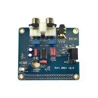 Mejor Raspberry Pi 3 B + tarjeta de audio analógica HIFI DAC Módulo de tarjeta de sonido tarjeta de expansión interfaz I2S con Raspberry Pi 3 Modelo B +/3B