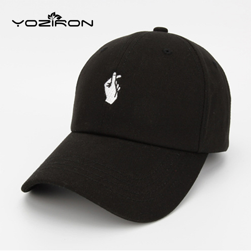 YOZIRON Fashion Men Women Cotton Love Finger Gestures Snapback Hats Baseball Caps For Men Women Adjustable Casual Adult Cap aetrue winter beanie men knit hat skullies beanies winter hats for men women caps warm baggy gorras bonnet fashion cap hat 2017