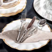 India ranks high yield odd home decorations ornaments food supplies alloy knife and fork spoon three sets