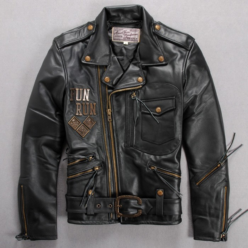 Aliexpress Com Buy Avirex Fly Fashion Leather Motorcycle