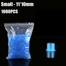 11mm Tattoo Inkcups Caps 1000pcs Plastic Tattoo Pigment Ink Cup Self-standing Large Size Blue Cup Supply Tattoo