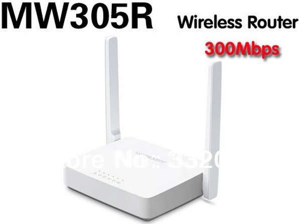 Free shipping The cheapest MERCURY 300M  wireless routerAn upgraded version of the Mercury MW305R MW300R 300M wireless router