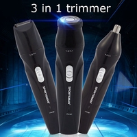 Electric Nose Hair Trimmer High Quality 2017 Multifunction Razor Nose Hair Trimmer Device Beauty Men EU