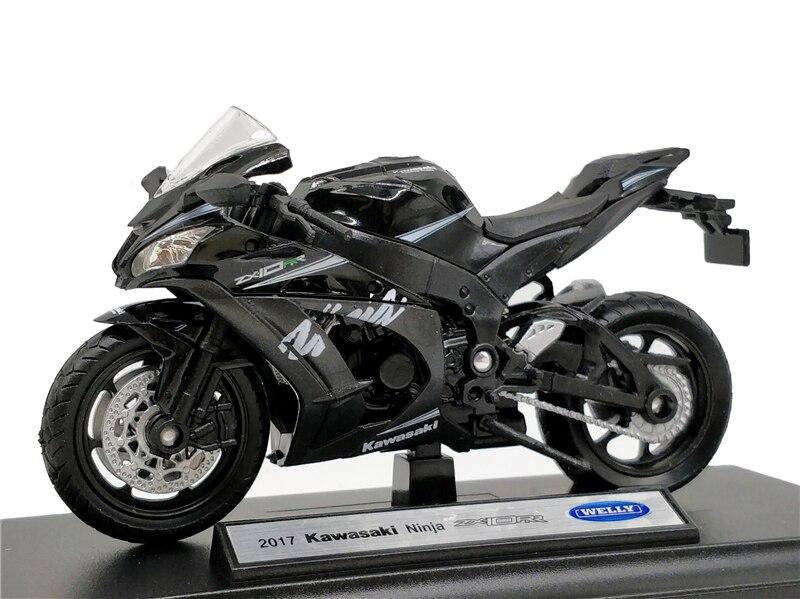 Welly 1:18 Kawasaki NINJA ZX10 RR 2017 Diecast Motorcycle