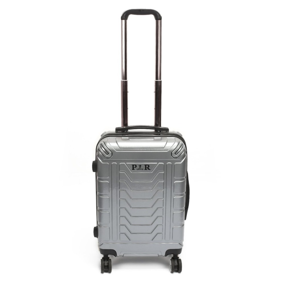 Plover Travel Luggage Rolling Suitcase Trolley Suitcase with Password Lock & Adjustable Pull Handle & Quiet Wheels