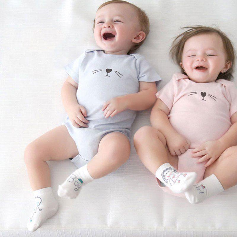 1-4years Kleinkind Kind Reine Baumwolle Langarm Hosen Cartoon Mund Stil Hosen Hosen