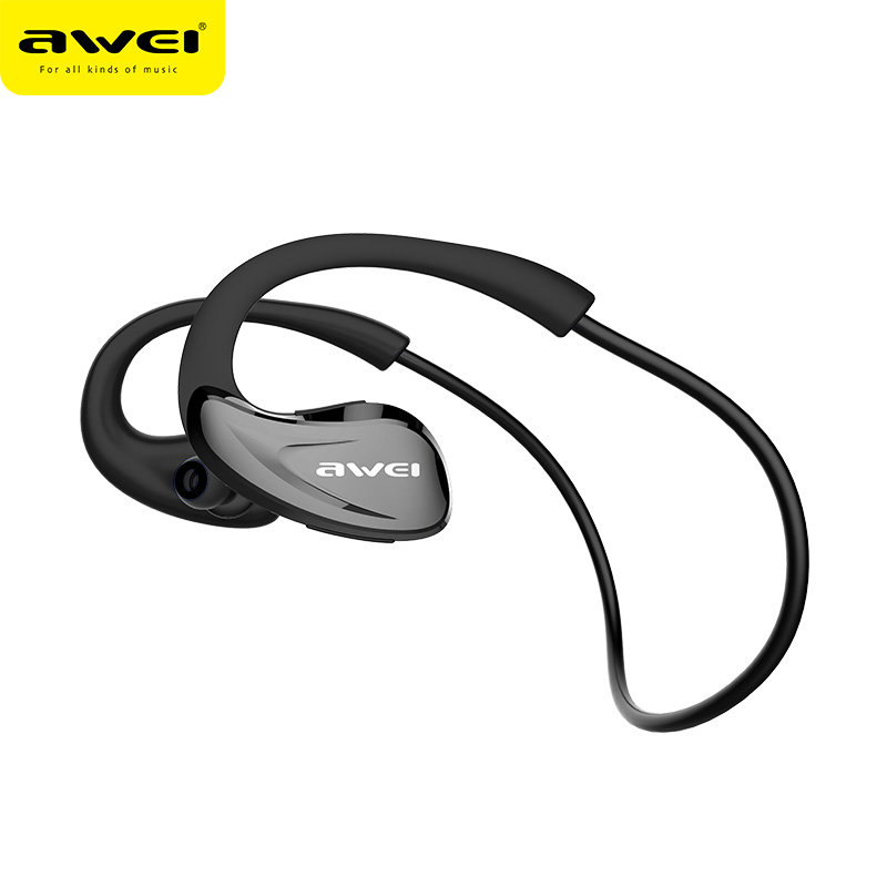 AWEI A880BL Sport Wireless Headphone Bluetooth Earphones Fone de ouvido For Phone With Microphone Neckband Ecouteur Auriculares awei stereo earphones headset wireless bluetooth earphone with microphone cuffia fone de ouvido for xiaomi iphone htc samsung