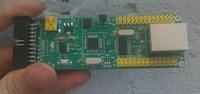 Free Shipping! 2pcs stm32 enc28j60 network development board / network relay board / LWIP / Uip / RTT
