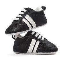 2017 Új Baby Boy & Girl cipő Kids Prewalker Gyerek Sportcipő csúszásmentes cipők Infant Bebe Soft Első Walkers Gyermekágy Cipő