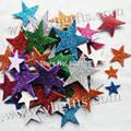 55 PCS (1 saco)/LOT. estrela de espuma Glitter adesivos, Kids toy. Scrapbooking kit. cedo educacional DIY. Cheap. ofício do jardim de infância