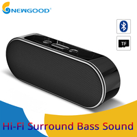 Speakers Mini HiFi Wireless Bluetooth Speaker Bass Stereo Sound Portable Speaker With MIC For Phone Support AUX TF Card USB Disk