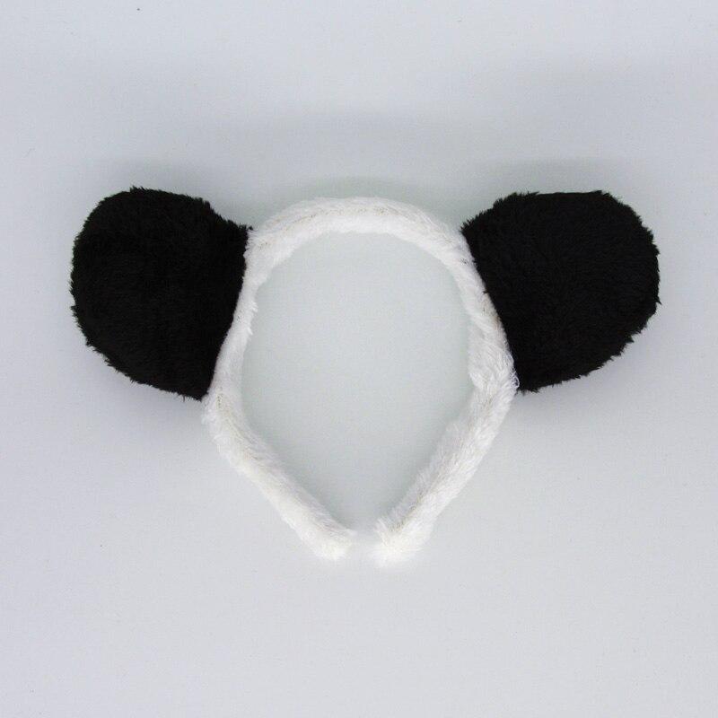 2018 NEW Kids Boy Frog Panda Tiger Giraffe Monkey Animal Ear Headband Hair Accessories Birthday Party Halloween ChildrenDay