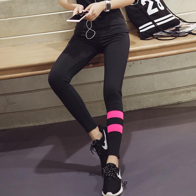 dae3183b1095f3 2019 Yoga Nine Pants Outdoor Sports Running Fitness High Waist Yoga Tight  Pants Girl Sports Leggings For Women Girl Sports Tight