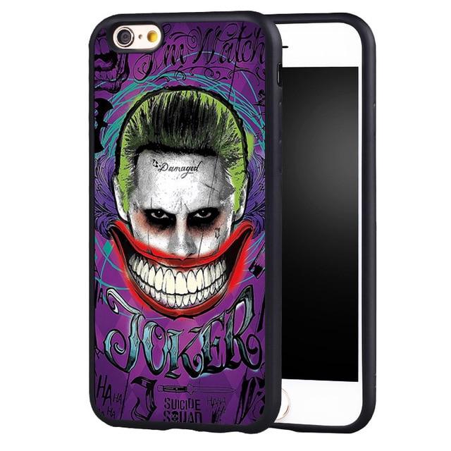 Joker Main Sourire Tatouage Imprime La Couverture De Cas Pour L