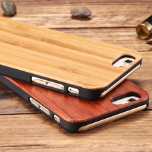 Retro Real Bamboo Phone Cases For iPhone