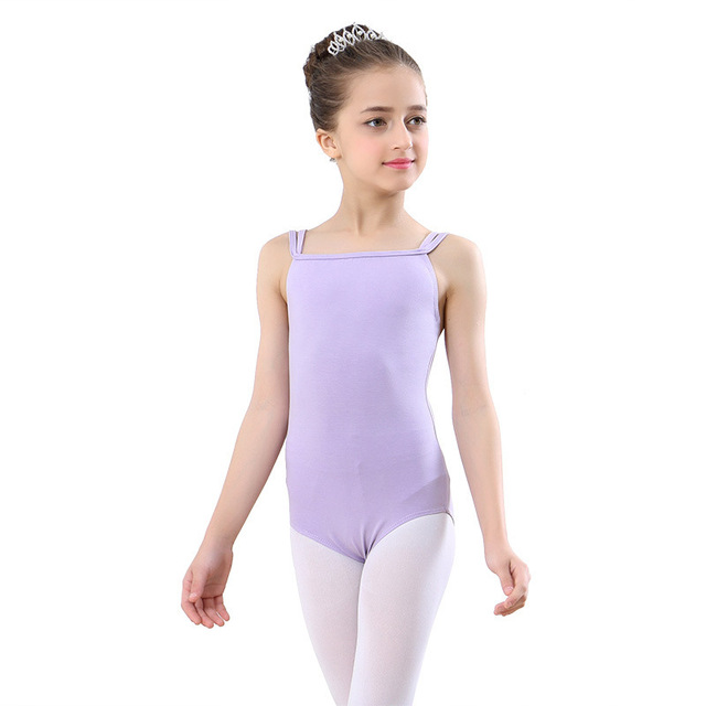 cb86766c0 Toddler Girls Ballet Dress gymnastics leotard sleeveless Athletic ...