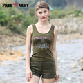 Summer Vest Army Green Sleeveless Women Round Neck Vests 2017 Hot New Ladies Coat Shirt Dry Camp Tees Casual Tank Tops Gs-8395A