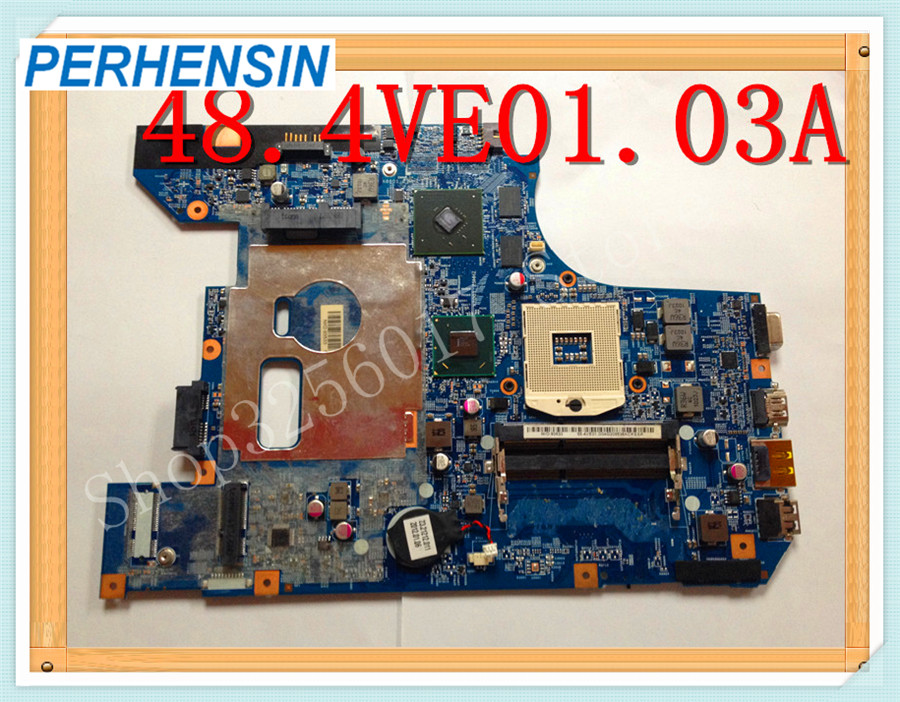 Original for Lenovo B570e B570 laptop motherboard 48.4VE01.03A 48.4VE01.0SA NON-Integrated HM65 DDR3 100% WORK PERFECTLY quality 48 4pa01 021 lz57 for lenovo ideapad b570 b570e laptop motherboard 11013537 lz57 hm65 pga989 ddr3 410m 1gb fully tested