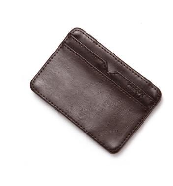 Livraison gratuite 2019 Tanya tui PU carte de crédit bancaire sac ensemble zéro portefeuille fermeture éclair court hommes porte-monnaie sac