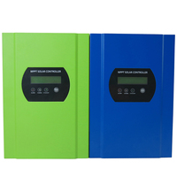 30A MPPT Solar Controller 96V Battery Regulator Charger Max 300V PV Input RS232 With LCD Display