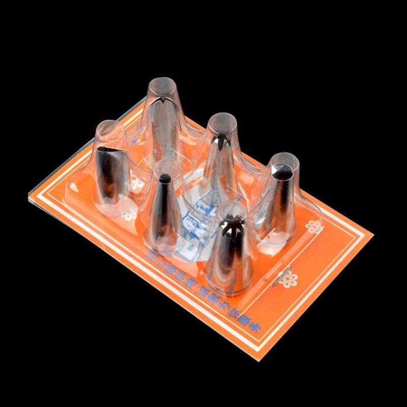 Семья Brithday торт украшая инструменты 6 шт./компл. Мини Размер Кондитерские советы бесшовные нержавеющая сталь крем сопла комплекты Бесплатна... ...
