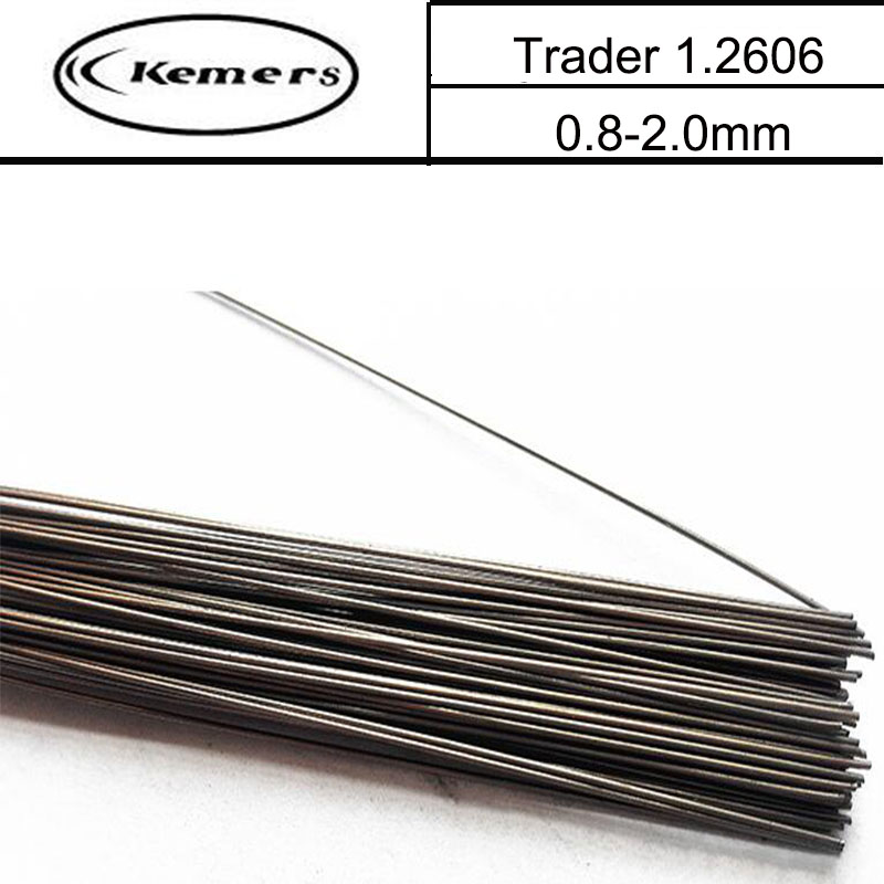 1KG/Pack Kemers Trader Mould welding wire 1.2606 pairmold welding wire for Welders (0.8/1.0/1.2/2.0mm) S012032 professional welding wire feeder 24v wire feed assembly 0 8 1 0mm 03 04 detault wire feeder mig mag welding machine ssj 18