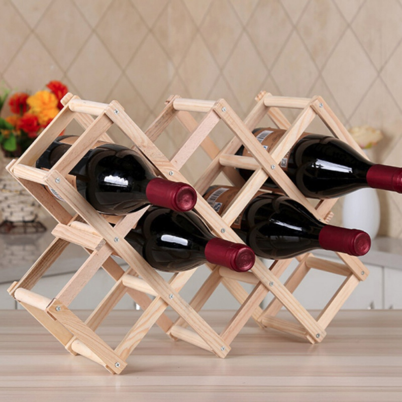 Folding Wine Rack