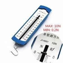 10N Newton meter / force gauge Bar box spring dynamometer balance Physics Experiments