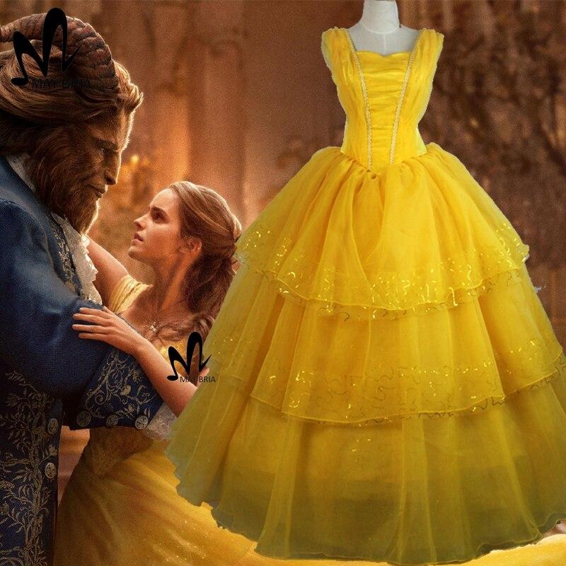 Achetez en gros emma watson robe en ligne des grossistes emma watson robe chinois aliexpress - Robe la belle et la bete adulte ...