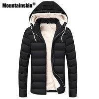Moutainskin Winter Parkas Men S Jackets 4XL Thick Hooded Coats Men Outerwear 2017 Warm Fleece Jacket